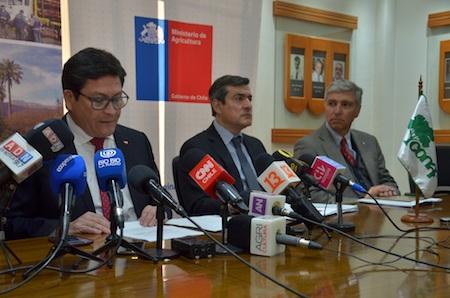 Director ejecutivo de CONAF detalla  déficit presupuestario institucional