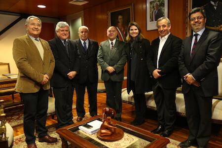 Puertos de Talcahuano presenta al intendente del Biobío nuevo directorio y trabajo estratégico a futuro