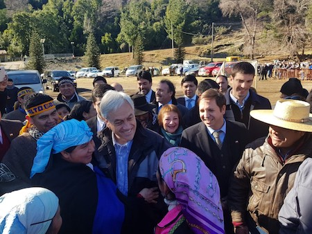 Presidente Piñera anuncia flexibilización de recursos SEP para adquirir sistemas de calefacción