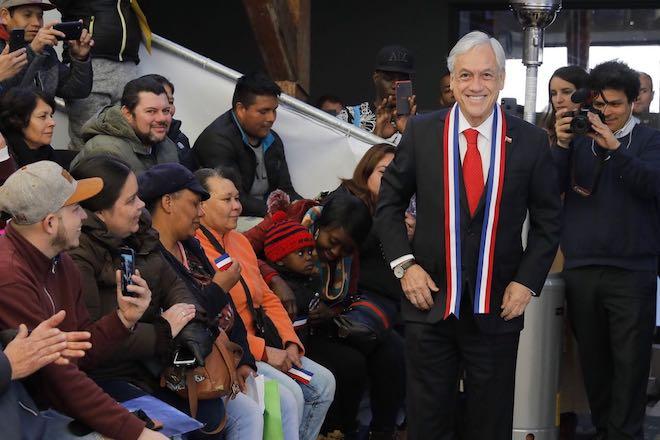 Presidente Piñera inaugura nueva oficina de migraciones y entrega balances de la primera etapa del proceso de regulación migratoria