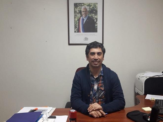 Asume nuevo coordinador de Senama en la Región de Los Ríos