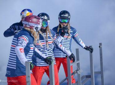 Construyen pista de entrenamiento para ski y snowboard modalidad cross, free style y alpino en el Centro Ski Pucón, sobre el volcán Villarrica