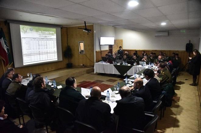 Subsecretario del Interior evaluó delitos en la Región de Los Ríos en STOP destacando mejora en el trabajo policial