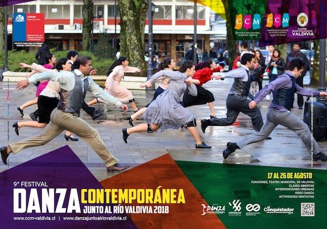 9º Festival de Danza Junto al Río Valdivia regresa este año con la puesta en escena más grande de su historia