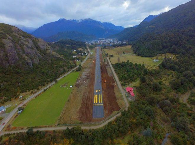 MOP consolida Plan de Conservación de Pequeños aeródromos en la provincia de Palena