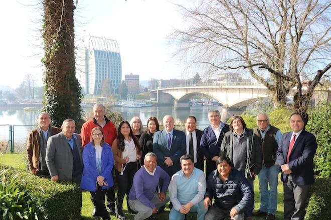 CORES de diversas regiones de Chile se dan cita en Los Ríos para dialogar en torno a la administración de recursos regionales