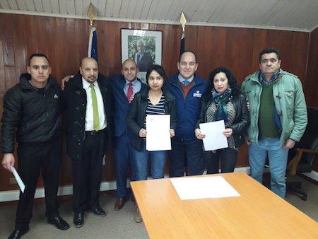 Fondos Orasmi: autoridades regionales entregan ayudas sociales a nombre del presidente Piñera, a familias del Ranco en materias de Salud, Educación y Discapacidad