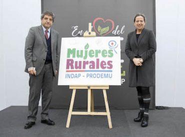 INDAP y Prodemu firman compromiso para fortalecer capacitación a través del Programa Mujeres Rurales