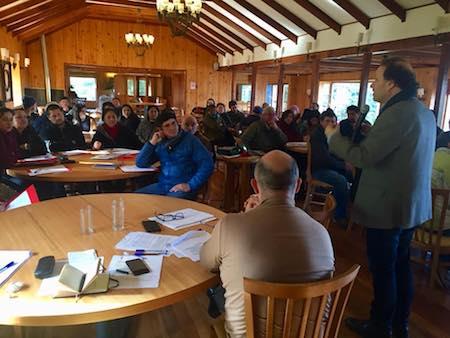 Senador De Urresti realiza encuentros para informar y recoger opiniones sobre nueva ley de agua potable rural