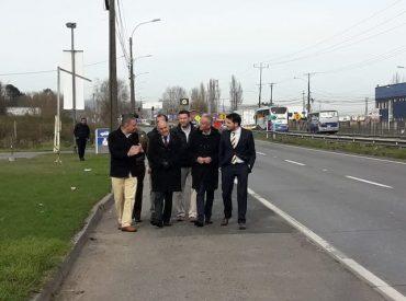 Autoridades dan a conocer plan de mejoramiento de accesibilidad a la ruta Concepción-Penco