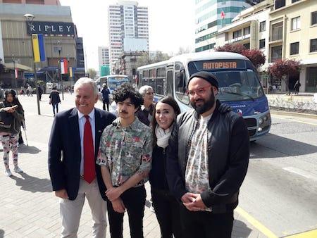 Llevarán el arte gráfico al transporte público regulado del Gran Concepción