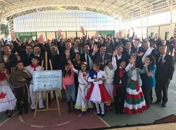 Subsecretario Irarrázabal inaugura línea de transmisión de 200 km y luminarias públicas en Región del Biobío