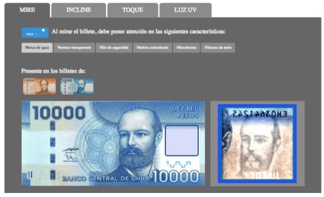 "Labocar inicia campaña para evitar fraudes con billetes falsos: ""Toque, mire e incline"""