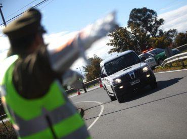 Fiscalización en ruta CH-203 resultó en detención de pareja que traficaba cocaína