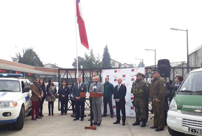 Gobernador Alonso Pérez de Arce lanza Plan Preventivo de Seguridad Pública por Fiestas Patrias