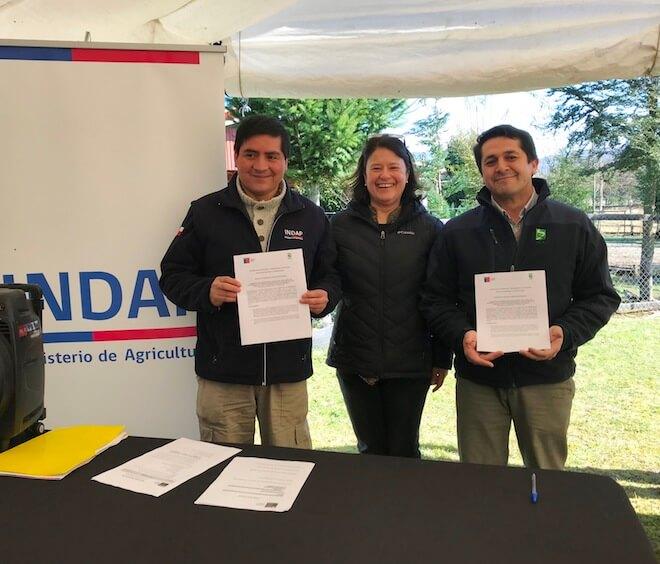 En Lanco se implementó el Programa de Fomento a la Innovación Indígena