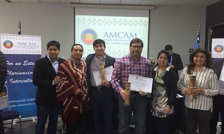 Paillaco marcó presencia en seminario para alcaldes y concejales mapuche de Chile