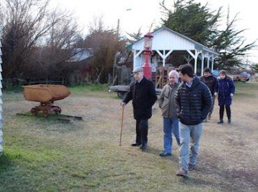 Mateo Martinic presenta a CChC Punta Arenas proyecto de restauración de la Primera Casa de las Telecomunicaciones de Magallanes