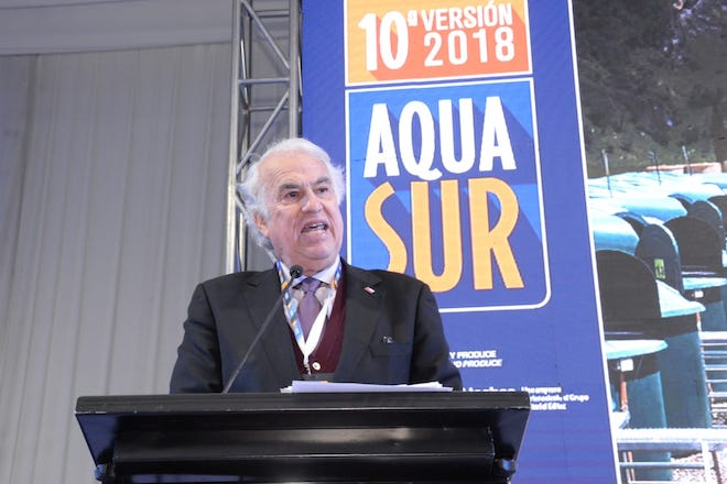 """Intendente Jürgensen en Aquasur 2018: """"Debemos trabajar juntos por un estricto cuidado del medio ambiente"""""""