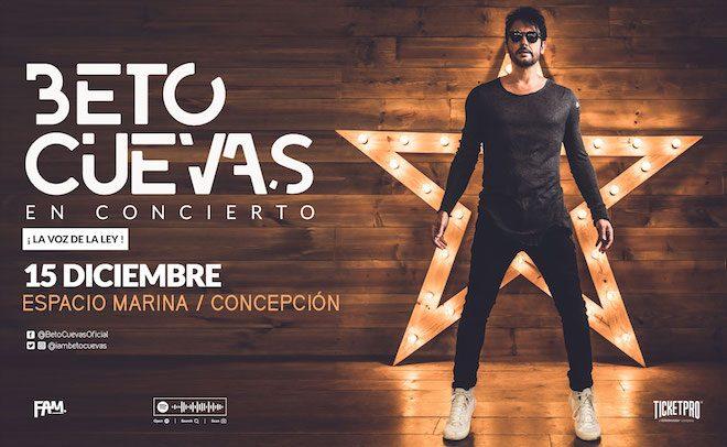 Beto Cuevas vuelve a Concepción a presentar su nuevo trabajo