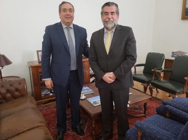Senador Bianchi se reunió con subsecretario del Interior para abordar pensiones de gracia a trabajadores portuarios de Magallanes