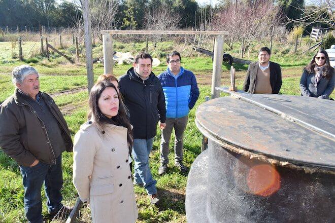 Convenio permitirá la instalación de 10 nuevos biodigestores en Panguipulli, Lanco, Máfil y Valdivia