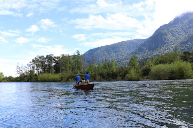 Pesca deportiva en el río Calcurrupe: una experiencia que cautiva