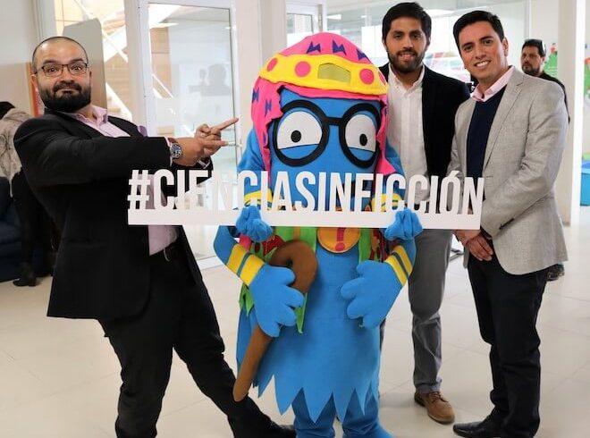 """Fundación Chile 2100 dio el vamos al evento científico regional más grande de Chile: """"Ciencia Sin Ficción"""""""