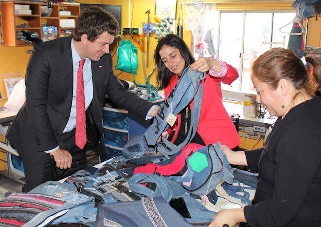 Director Ejecutivo del FOSIS se reunió con emprendedores en Los Ríos