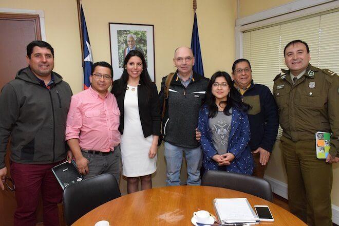 Coordinan reforzar la presencia de Carabineros en la costanera de Valdivia