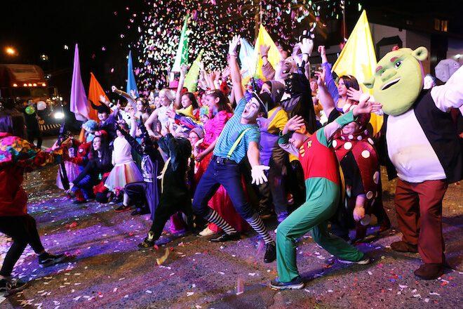 """""""Acordeonista Autómata» y «Titanic» fueron fueron los grandes ganadores de un nuevo Carnaval de Primavera en Valdivia"""