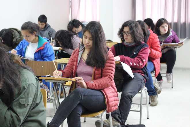 130 jóvenes participaron del 17° Ensayo PSU de Santo Tomás