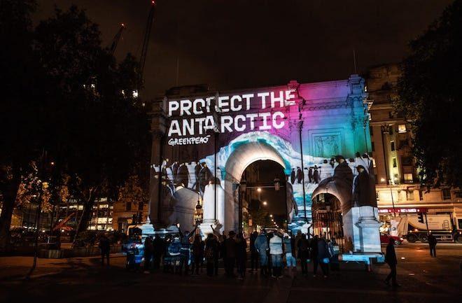 Líder de Radiohead lanzó un tema en apoyo a la campaña por un Santuario Antártico de Greenpeace