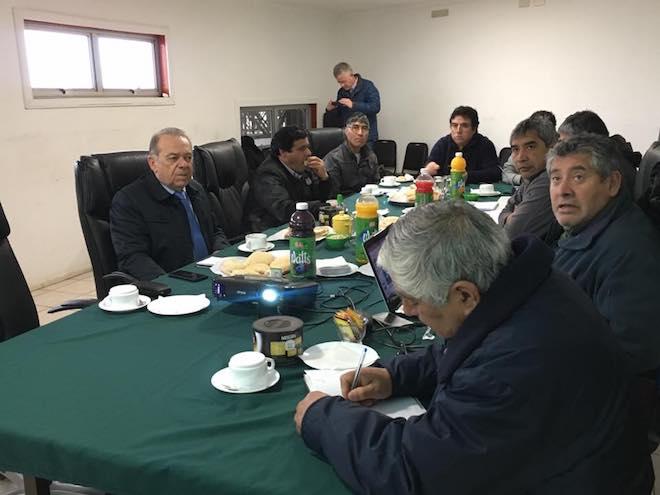 Berger (RN) y Fipasur se reunieron para analizar modificaciones al reglamento de ley de pesca