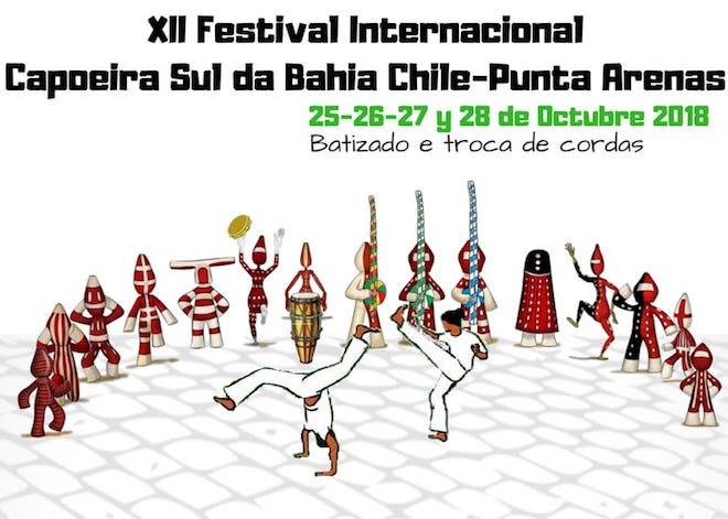 Más de 50 Capoeiristas se reunirán en Punta Arenas en el XII Festival Internacional de Capoeira