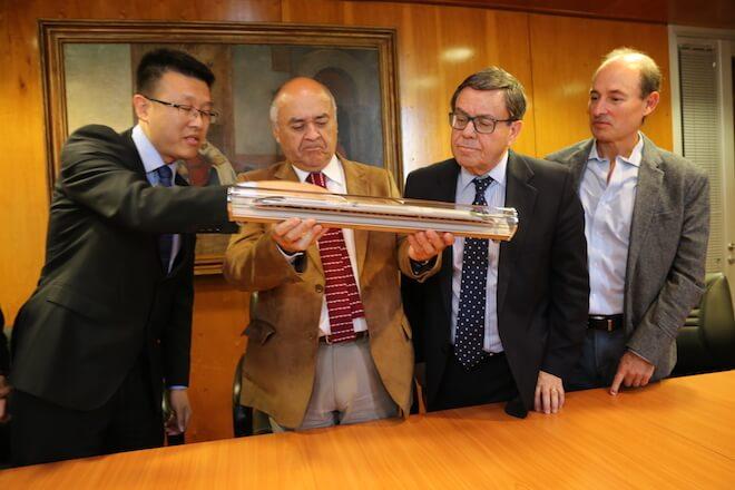 Consorcio Chino CRRC presenta su proyecto de construcción de trenes para la Región del Biobío