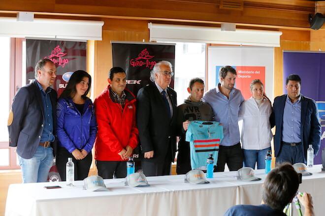 Autoridades regionales dieron el vamos a tercera versión de Giro del Lago Trek Subaru