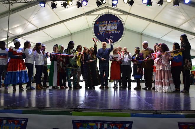 Con gran afluencia de público se desarrolló Fiesta de las Naciones en el Estadio Germán Becker de Temuco