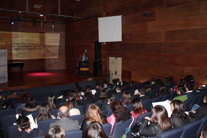 Jornada de Consejos Escolares reunió a 25 establecimientos de Valdivia