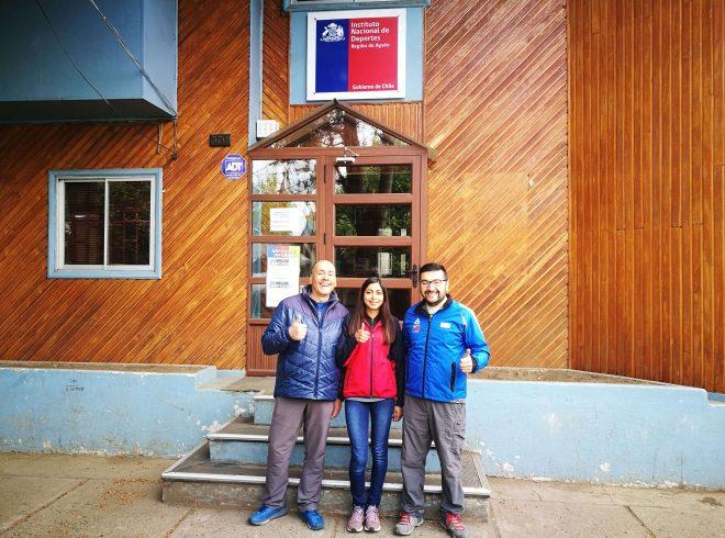 Atleta de Aysén se entrena en Calama para el Sudamericano Escolar