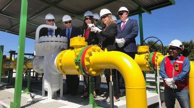 Reinician importación de gas natural argentino en las regiones de Biobío y Ñuble