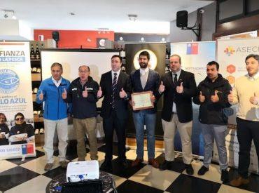 Restorán Don Camarón es el primero de Araucanía en recibir el Sello Azul de Sernapesca