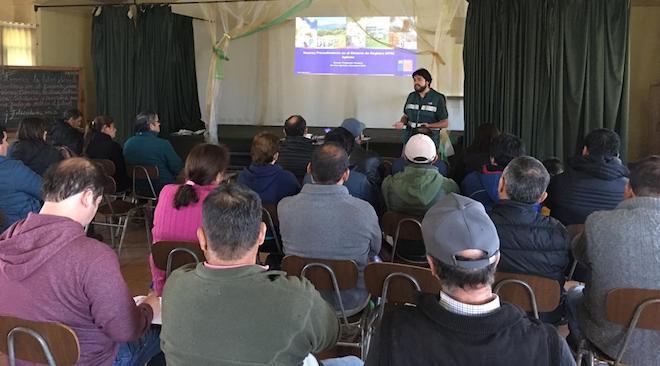 SAG realiza charlas a apicultores de Biobío