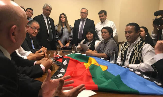 Alcaldesa de Paillaco acompañó a diputada Nuyado durante interpelación a ministro Chadwick
