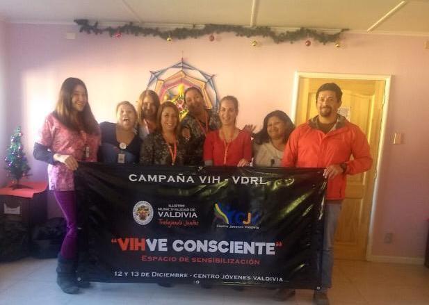 Centro de Jóvenes realizó 280 exámenes gratuitos de VIH y VDRL a jóvenes de Valdivia