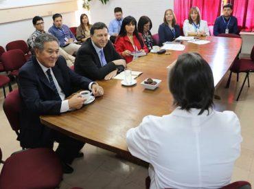 Director de Fonasa visitó el Hospital Base Valdivia