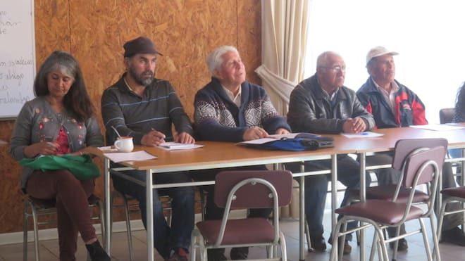 Dirigentes mapuches de Nueva Imperial recibieron capacitación sobre el Convenio 169 de la OIT