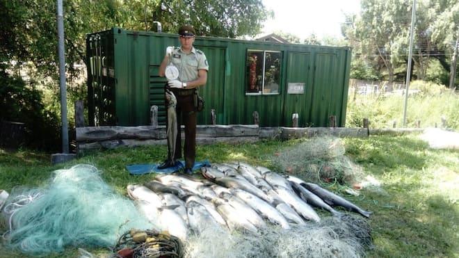 Infracción ley general de pesca