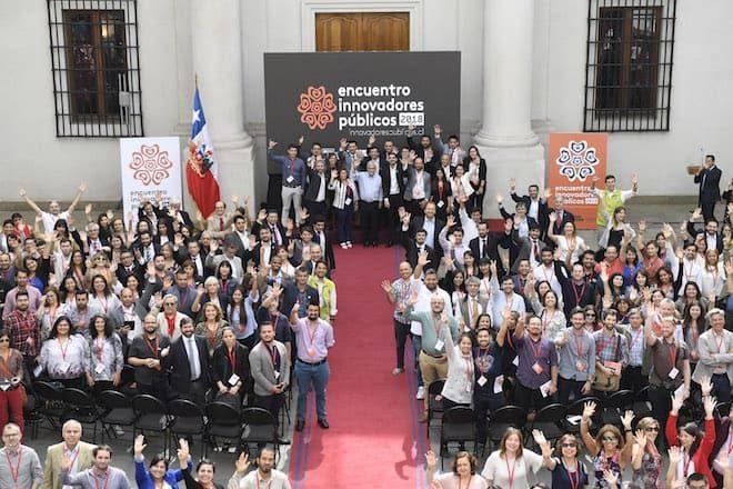 Presidente Piñera se reúne con más de 500 servidores públicos para dar inicio al 2do Encuentro de Innovadores Públicos