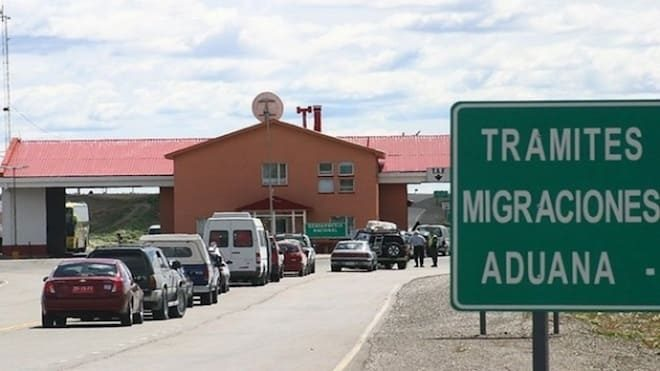 Paso fronterizo Monte Aymond cerrado debido a problemas con suministro de gas